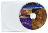 Full Color CD Duplication & Print with Clear Vinyl Plastic Sleeves